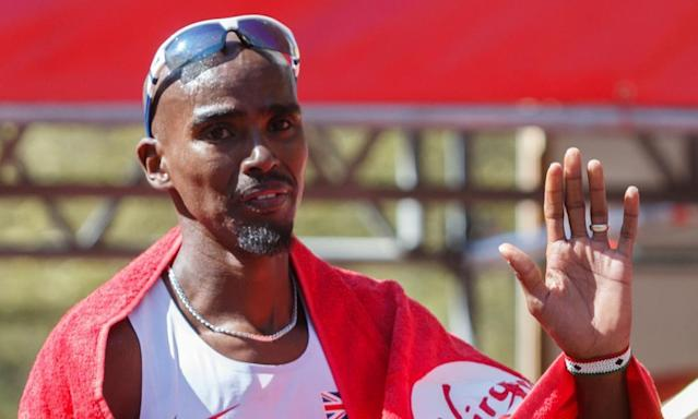 "<span class=""element-image__caption"">Mo Farah, the British Olympic champion in 10,000m and 5,000m, finished in eighth place at the 2014 London Marathon.</span> <span class=""element-image__credit"">Photograph: John Walton/PA</span>"