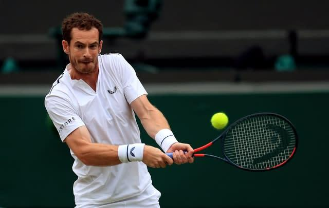 Andy Murray withdrew from his third-place play-off as a precautionary measure (Mike Egerton/PA)