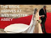 """<p>In a nod to William's late mother, some of the songs sang during the wedding ceremony had ties to Princess Diana.</p><p>The hymn 'Guide me, O Thou Great Redeemer' was sung at Princess Diana's funeral - also held in Westminster Abbey - in 1997, while the music Kate walked down the aisle to with her father was 'I Was Glad' by Sir Charles Hubert Hastings Parry, which according to <a href=""""https://www.channel4.com/news/royal-wedding-from-diana-to-kate"""" rel=""""nofollow noopener"""" target=""""_blank"""" data-ylk=""""slk:Channel 4 News"""" class=""""link rapid-noclick-resp"""">Channel 4 News</a> was also featured in Charles and Diana's royal wedding.</p><p>Last year, <a href=""""https://www.elle.com/uk/life-and-culture/culture/a32682279/prince-charles-kate-middleton-prince-william-royal-wedding/"""" rel=""""nofollow noopener"""" target=""""_blank"""" data-ylk=""""slk:Prince Charles discussed"""" class=""""link rapid-noclick-resp"""">Prince Charles discussed</a> how he had selected some of the music for William and Kate's wedding, telling Classic FM: """"I know my eldest son was quite understanding and was perfectly happy for me to suggest a few pieces for their wedding. I hope that gave some people pleasure, but it's rather fun having orchestras in for great occasions like that, and why not suggest a few pieces occasionally? Anyway... I do enjoy it.""""<br></p><p><a href=""""https://www.youtube.com/watch?v=5u6-CpU-1EY&t=1s"""" rel=""""nofollow noopener"""" target=""""_blank"""" data-ylk=""""slk:See the original post on Youtube"""" class=""""link rapid-noclick-resp"""">See the original post on Youtube</a></p>"""
