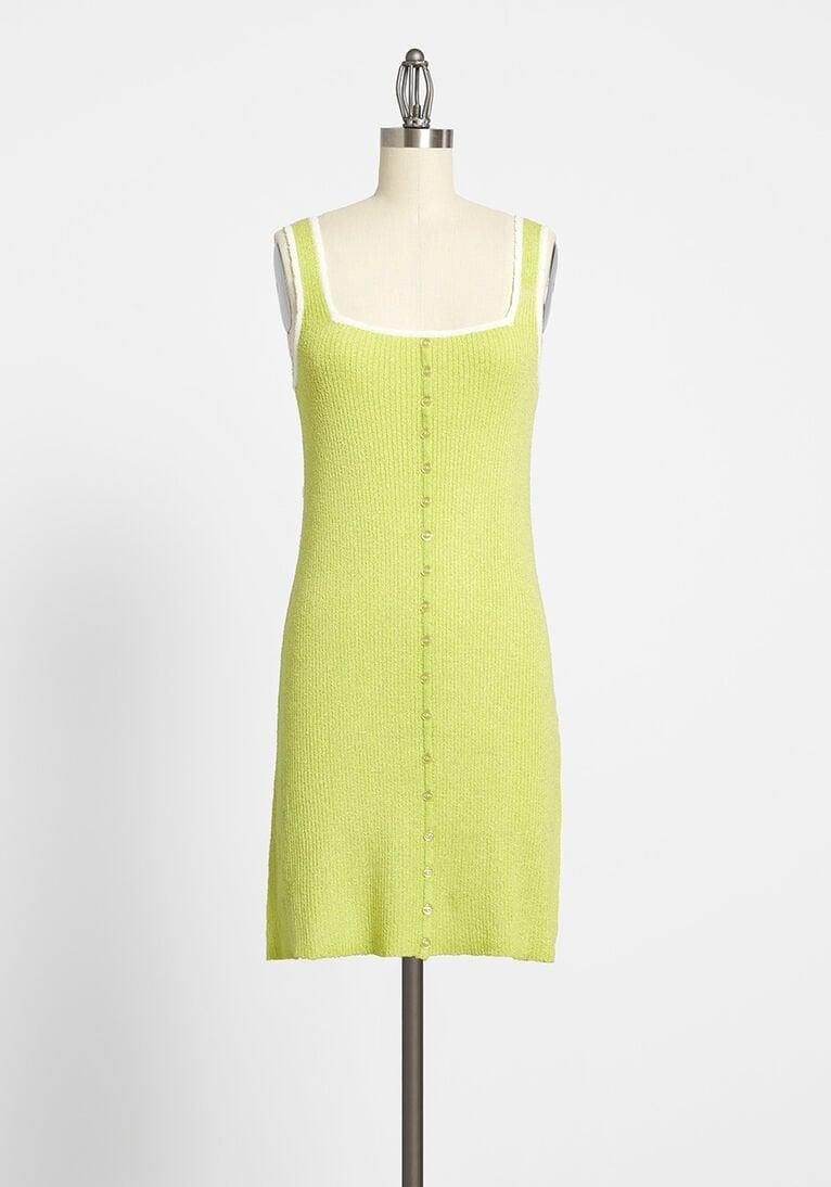 <p>This <span>Matcha Do About Nothing Sweater Dress</span> ($59) is very on-trend this season.</p>