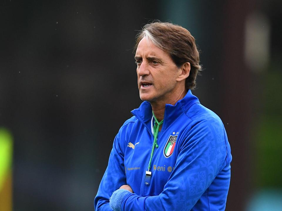 Italy manager Roberto Mancini (Getty Images)