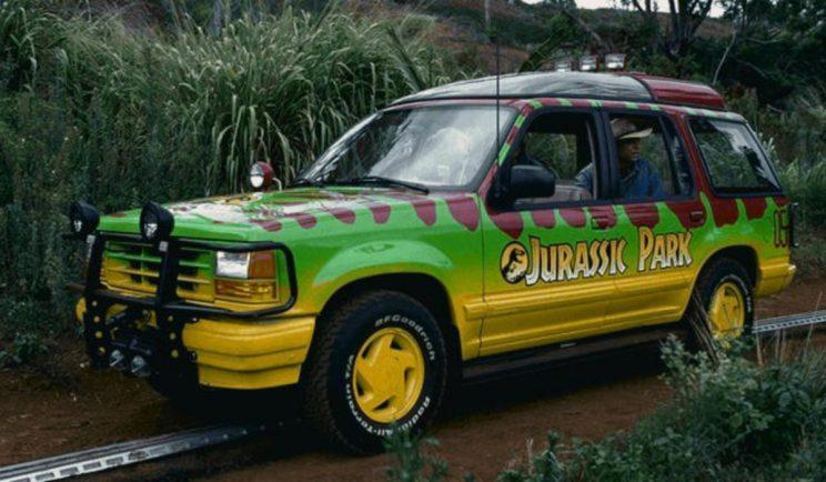 Jurassic Park's driverless cars are back - Credit: Universal Pictures