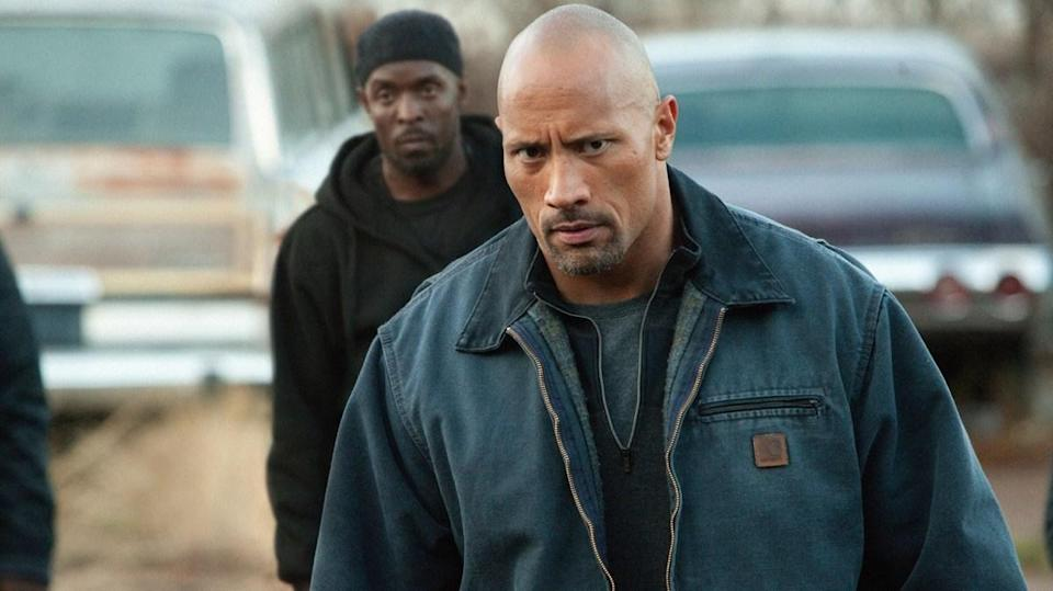 "As hard-hitting father John, Dwayne ""The Rock"" Johnson, goes deep undercover to save his son from stern drug-crime laws."