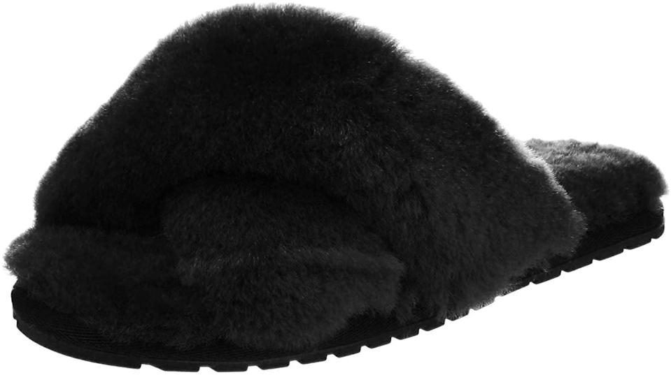 <p>These <span>EMU Australia Mayberry Sheepskin Slippers</span> ($60) are also a cool choice.</p>