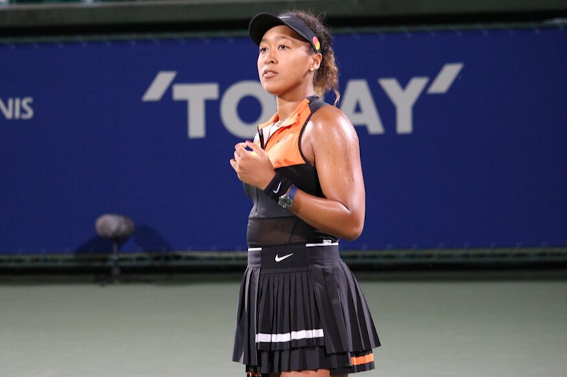 Naomi Osaka Laughs Off 'Too Sunburned' Comment With Plug For Sponsor's Sunscreen