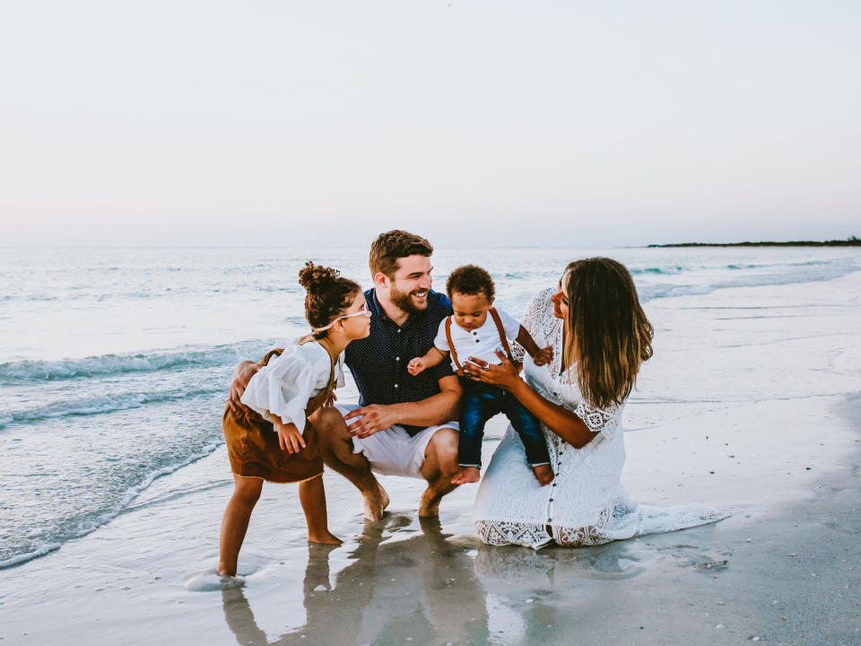Rachel and Matt Taylor with their two children, Jada, 5, and Jack, 18-months. (Photo: Rachel Taylor)