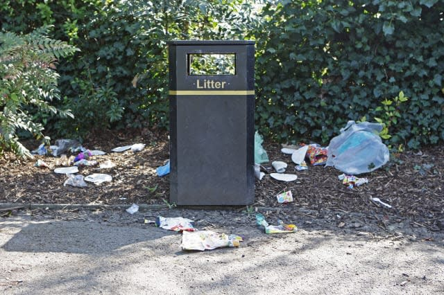 Litter wardens earn bonuses when they issue more fines