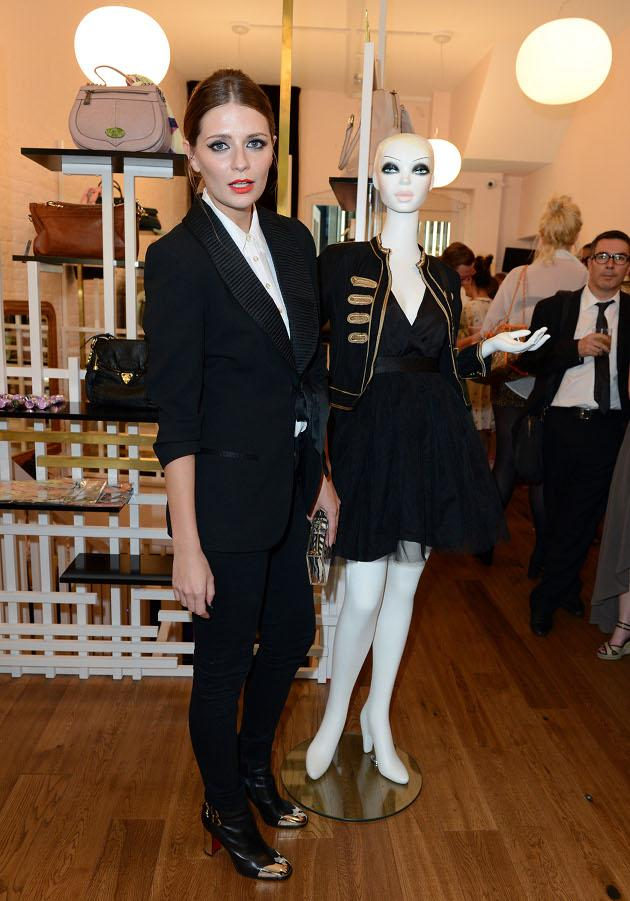 Mischa Barton in ihrer Boutique im Londoner East End (Bild: Getty Images)