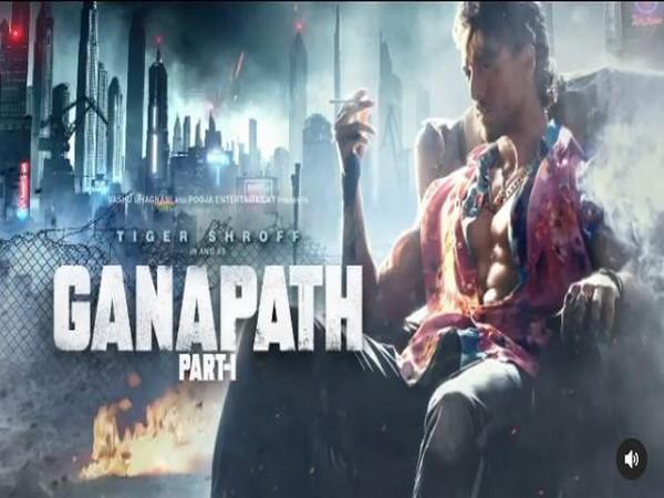 'Ganapath' poster (Image source: Twitter)