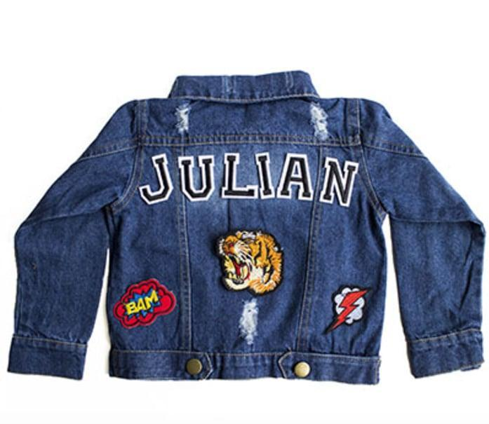 <p>These <span>Customizable Denim Patch Jackets</span> ($55) ooze cool.</p>