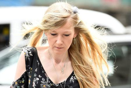Charlie Gard's mother Connie Yates arrives at the High Court for a hearing on her son's end of life care, in London, Britain July 26, 2017. REUTERS/Hannah McKay