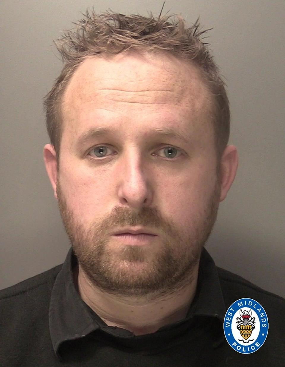 Richard Avery was jailed for his part in the crime (West Midlands Police/PA) (PA Media)