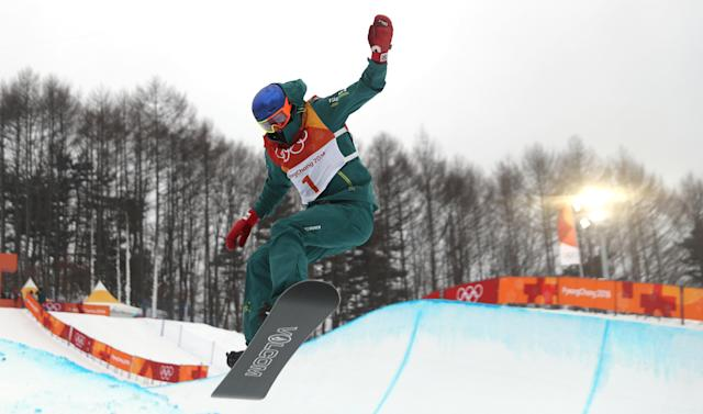 <p>Scotty James of Australia also fell during his last run but his 92.00 from the first run was good enough for the bronze medal. (Fénix, Corea del Sur) EFE/EPA/FAZRY ISMAIL </p>