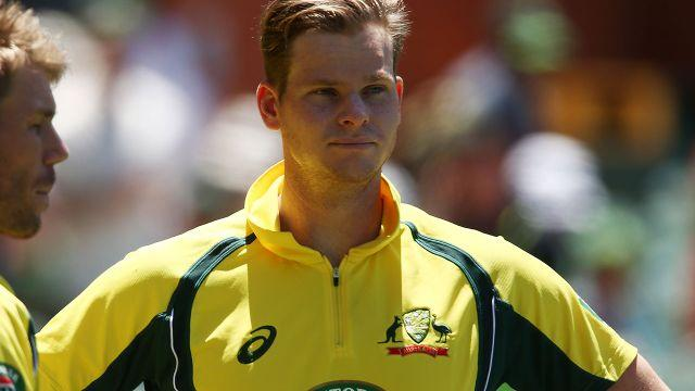 Smith has looked helpless at times in India. Image: Getty