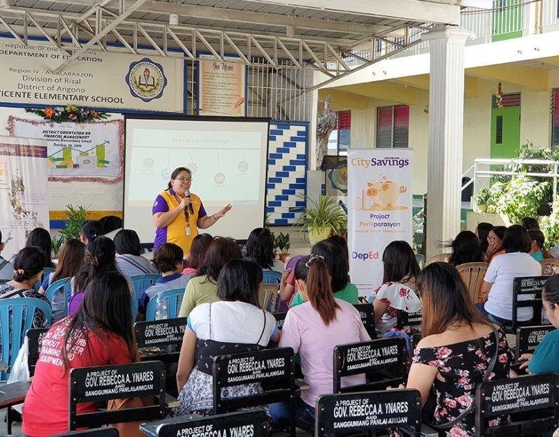 City Savings Bank holds 'Peraparasyon' sessions, teaches Filipino educators to save for future