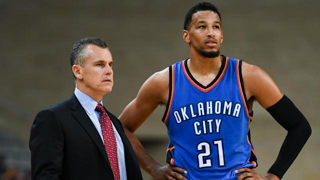 Despite being awful from the foul line, Andre Roberson will likely remain in the game again against the Rockets if they foul him.