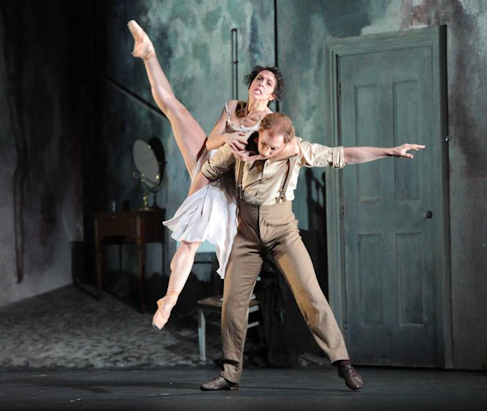 Sweet Violets, performed by the Royal Ballet at the Royal Opera House, with Bennet Gartside and Laura Morera - Alastair Muir