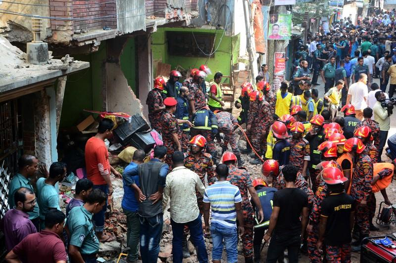 Gas pipeline explosion in Chittagong
