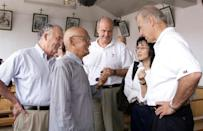 Joe Biden visited the village church in Yanzikou and received mass from the priest at the time
