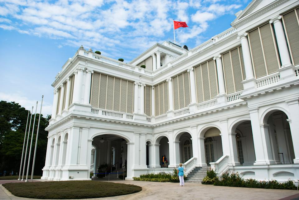 Singapore's Istana, the official residence and office of the nation's president. (PHOTO: Getty Images)