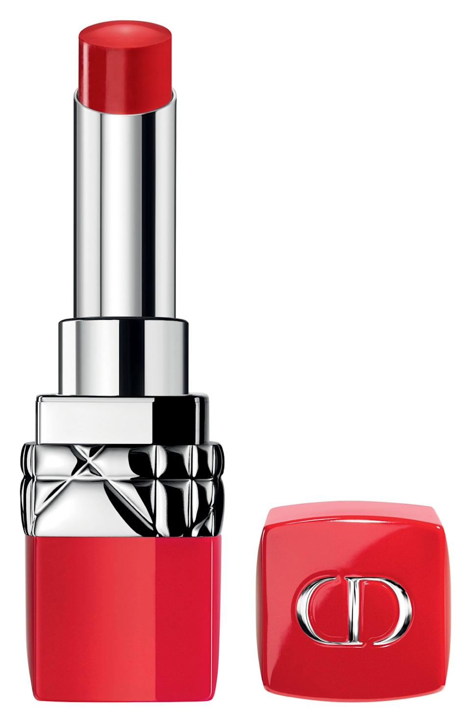 """<p><strong>Dior</strong></p><p>nordstrom.com</p><p><strong>$38.00</strong></p><p><a href=""""https://go.redirectingat.com?id=74968X1596630&url=https%3A%2F%2Fshop.nordstrom.com%2Fs%2Fdior-rouge-dior-ultra-rouge-pigmented-hydra-lipstick%2F5044549&sref=https%3A%2F%2Fwww.townandcountrymag.com%2Fstyle%2Fg2095%2Fmothers-day-gift-ideas%2F"""" rel=""""nofollow noopener"""" target=""""_blank"""" data-ylk=""""slk:Shop Now"""" class=""""link rapid-noclick-resp"""">Shop Now</a></p><p>There is no such thing as too many red lipsticks, but this one is certain to make mom feel special every time she whips it out.</p>"""