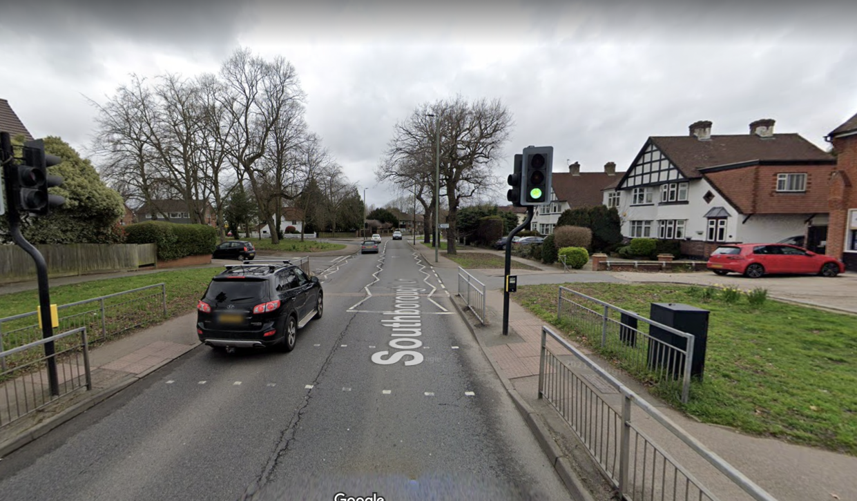 The collision happened on Southborough Lane in Bromley in the early hours of Sunday (18 July). (Google Maps)