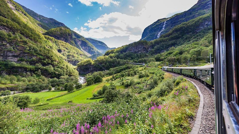 "<p>For a true springtime adventure, <a href=""https://www.goodhousekeeping.com/uk/lifestyle/travel/g27645232/rail-holidays/"" rel=""nofollow noopener"" target=""_blank"" data-ylk=""slk:train journeys"" class=""link rapid-noclick-resp"">train journeys</a> don't come much more epic than this <a href=""https://www.goodhousekeepingholidays.com/tours/arctic-rail"" rel=""nofollow noopener"" target=""_blank"" data-ylk=""slk:three-week Arctic rail odyssey"" class=""link rapid-noclick-resp"">three-week Arctic rail odyssey</a>.</p><p>Setting out from London via Cologne, you can take in all three Scandinavian capitals - Copenhagen, Stockholm and Oslo – stay in the unique Icehotel and Treehotel, and ride on world-renowned scenic trains, including the Dovre and Rauma Lines and the epic Nordland and Arctic Circle trains. </p><p>From dramatic fjords, remote beautiful islands and gastro and culture capitals, this spring holiday has it all!</p><p><strong>When?</strong> March 2022</p><p><strong>Duration:</strong> 22 days</p><p><strong>Price:</strong> From £3,459 per person</p><p><a class=""link rapid-noclick-resp"" href=""https://www.goodhousekeepingholidays.com/tours/arctic-rail"" rel=""nofollow noopener"" target=""_blank"" data-ylk=""slk:FIND OUT MORE"">FIND OUT MORE</a></p>"