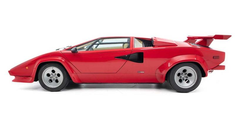 Andretti's Legendary Lamborghini For Sale