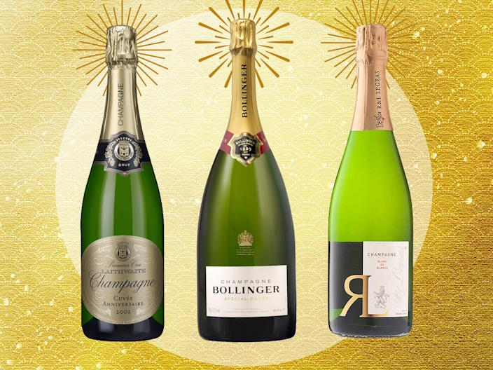<p>Champagne production is one of the most complex, time-consuming and labour-intensive methods of making wine there is</p> (The Independent/iStock)