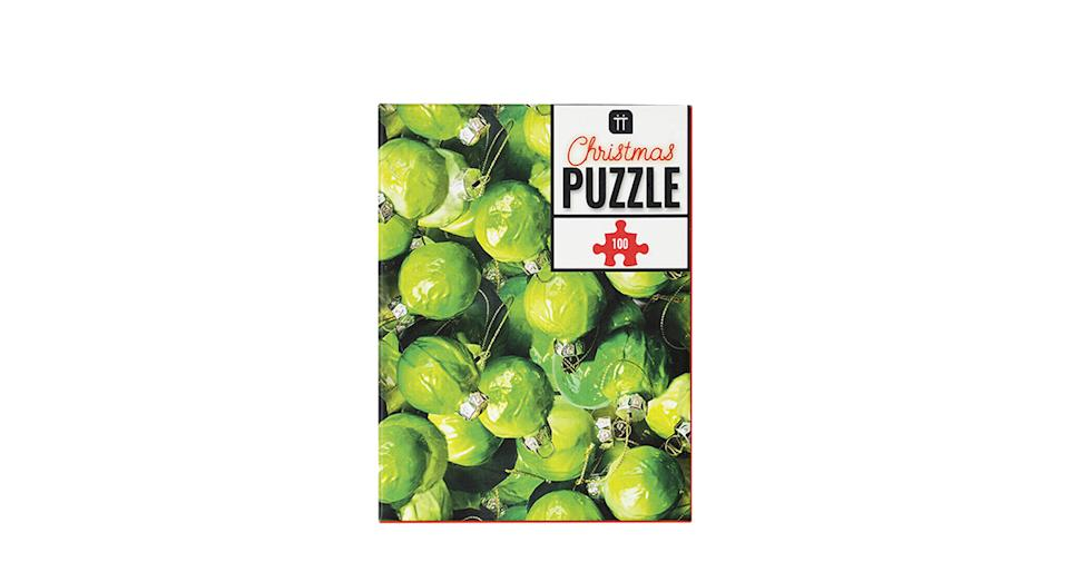 Talking Tables Christmas Sprouts Jigsaw Puzzle