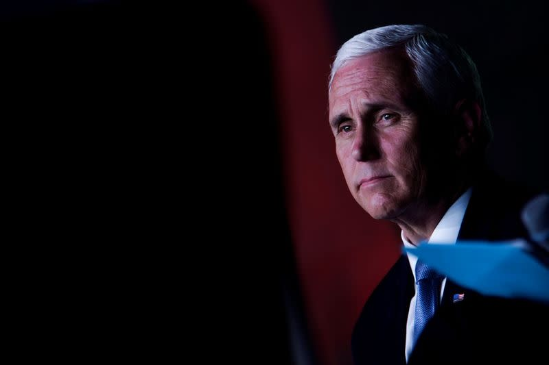Pence says no rise in U.S. coronavirus cases seen yet due to protests