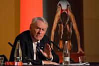 Senior IOC member Dick Pound said Olympic athletes should be given priority for the coronavirus vaccine