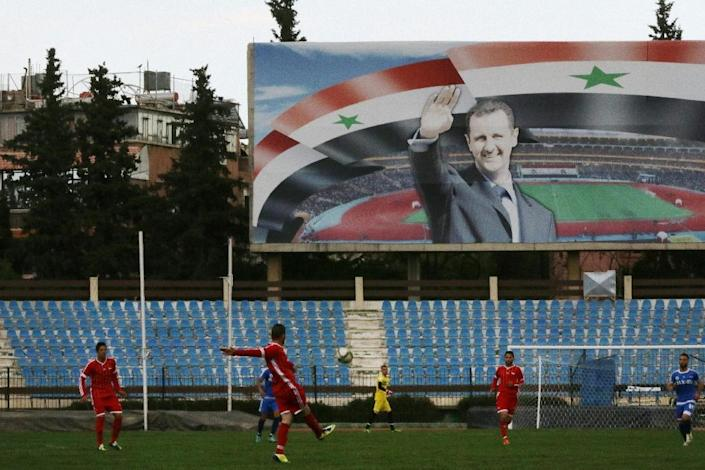 The central obstacles to talks are the fate of President Bashar al-Assad, presidential elections and the type of new government (AFP Photo/Louai Beshara)