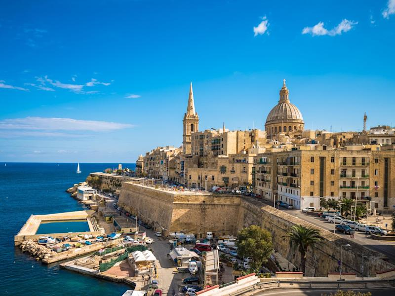 The Maltese capital of Valetta is packed with history: iStock
