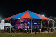 In fall 2020 the Atlanta Opera is staging live performances retrofitted to the age of coronavirus, under a circus tent on a baseball field