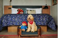 """<p>The eco- and dog-friendly Treehouse Hotel London in Marylebone has teamed up with Lily's Kitchen and a local dog-walking company for its 'Ulti-Mutt Staycation' package, which stars minibars made over with pet needs in mind and room service for dogs. The rooftop restaurant, aptly named the Nest, has full-circle views of the city; and the hotel is within walking distance of both Hyde Park and Regent's Park for less-urban walkies.</p><p>For more information, visit <a href=""""https://www.treehousehotels.com/london"""" rel=""""nofollow noopener"""" target=""""_blank"""" data-ylk=""""slk:treehousehotels.com"""" class=""""link rapid-noclick-resp"""">treehousehotels.com</a>.</p>"""