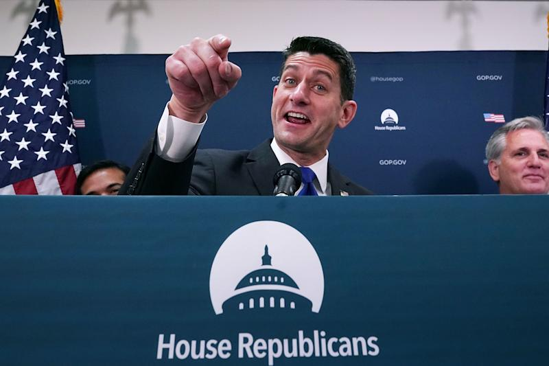 House Speaker Paul Ryan (R-Wis.) has perfected the art of managing not to notice what Trump has said or done.