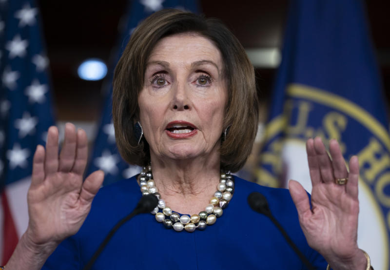 Pelosi sees next relief bill at $1T or more