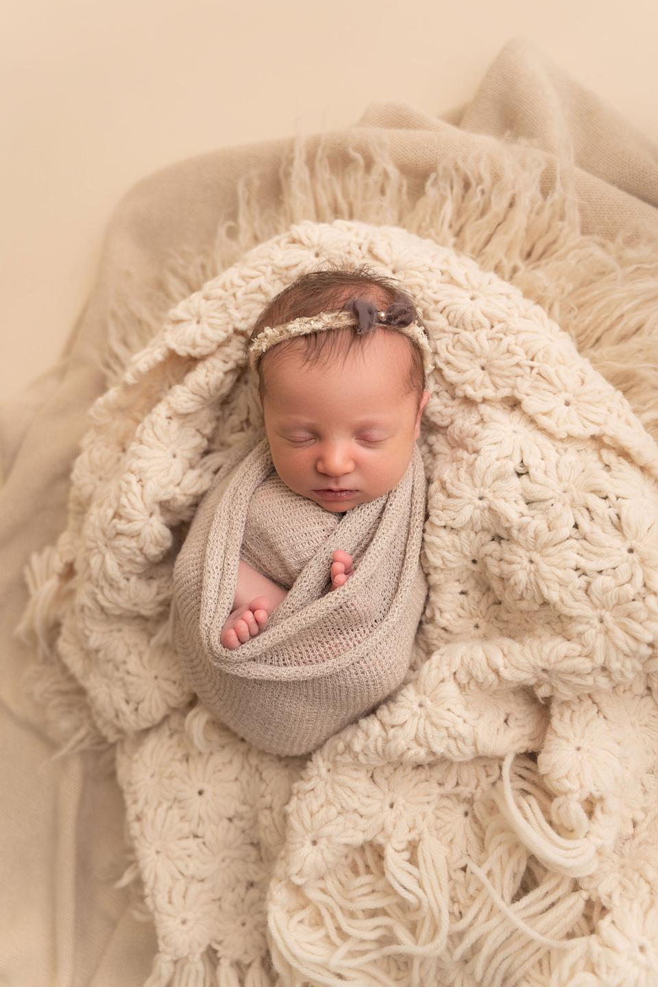 <p>Molly Everette Gibson was born on 26 October</p>Haleigh Crabtree Photography / www.haleighcrabtreephotography.com