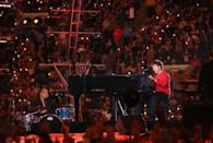 <p>Due to the world being shook after 2004's halftime show, the Super Bowl trotted out the most pure soul alive in 2005: Paul McCartney.</p>