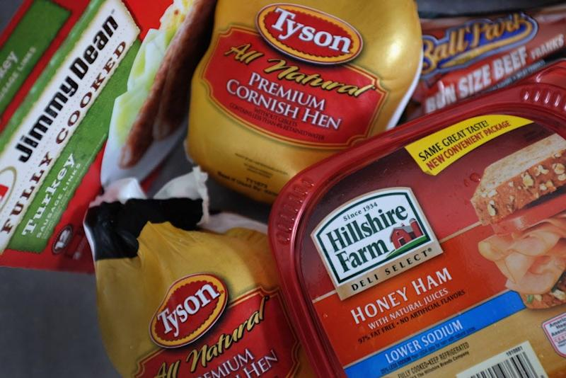 Tyson Foods, one the world's biggest meat sellers,