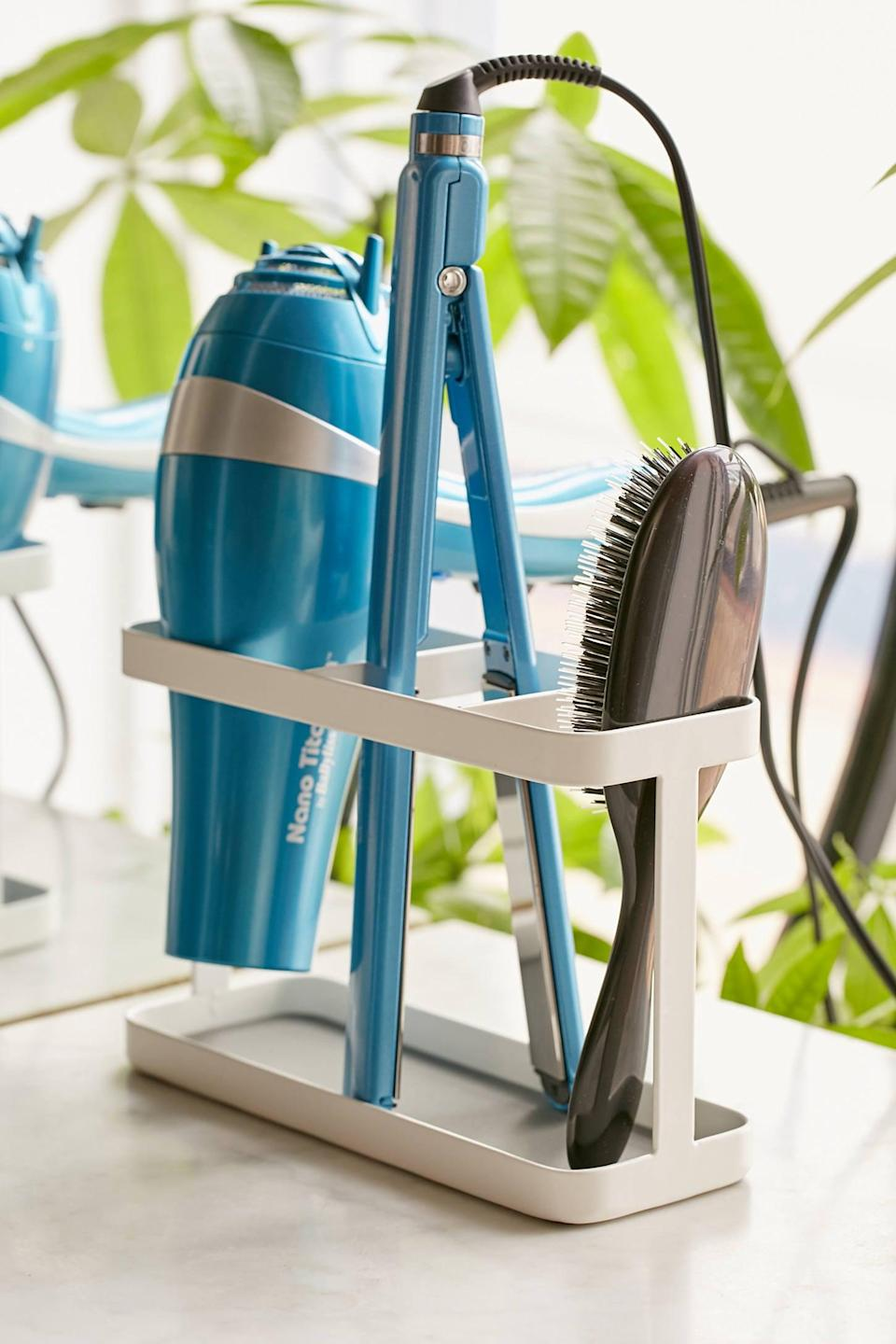 "<p>You'll never be able to live without this <a href=""https://www.popsugar.com/buy/Hair-Accessory-Organizer-432649?p_name=Hair%20Accessory%20Organizer&retailer=urbanoutfitters.com&pid=432649&price=44&evar1=casa%3Aus&evar9=47251564&evar98=https%3A%2F%2Fwww.popsugar.com%2Fhome%2Fphoto-gallery%2F47251564%2Fimage%2F47251623%2FHair-Accessory-Organizer&list1=cleaning%2Corganization%2Cspring%20cleaning%2Csmall%20space%20living%2Cbathrooms%2Chome%20organization&prop13=mobile&pdata=1"" class=""link rapid-noclick-resp"" rel=""nofollow noopener"" target=""_blank"" data-ylk=""slk:Hair Accessory Organizer"">Hair Accessory Organizer</a> ($44) again.</p>"