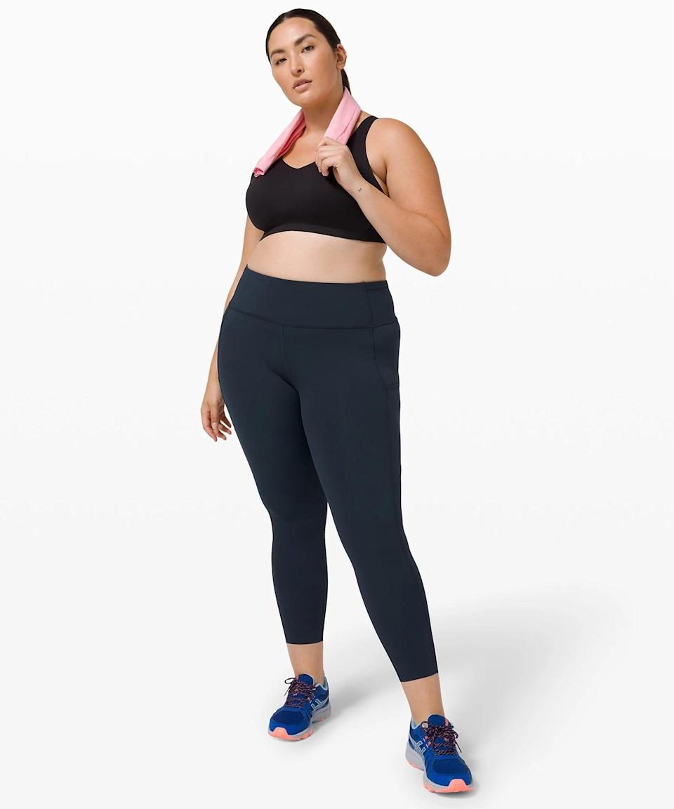<p>In these <span>Lululemon Fast and Free Tight II</span> ($128), sweaty workouts don't stand a chance.</p>