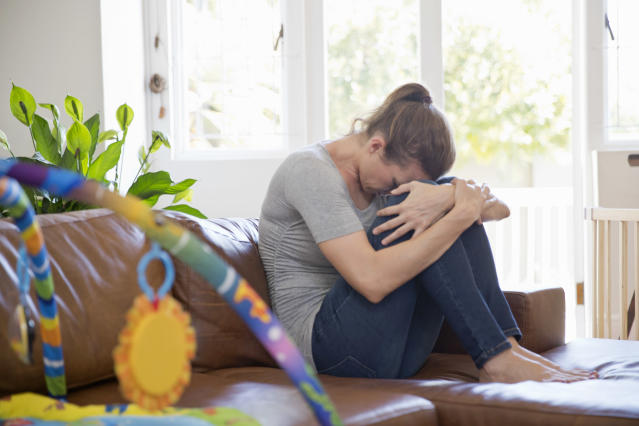 Up to 20 percent of women in the U.S. are affected by postpartum depression. (Photo: Getty Images)