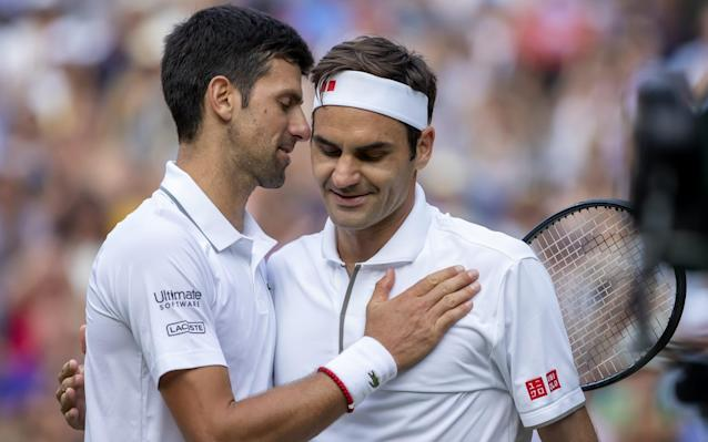 Novak Djokovic's is within four grand slams of Roger Federer's record after Sunday's Wimbledon final - Action Plus