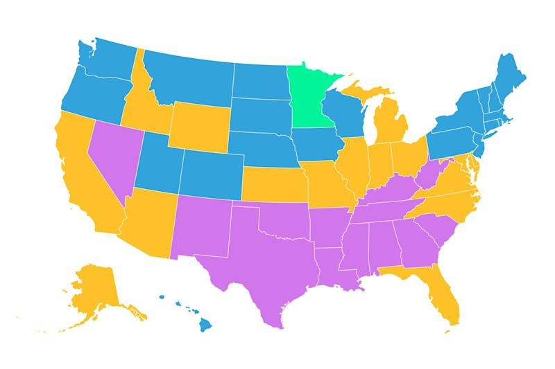 This Map Shows the Average Credit Score in Every State. See How You Stack up
