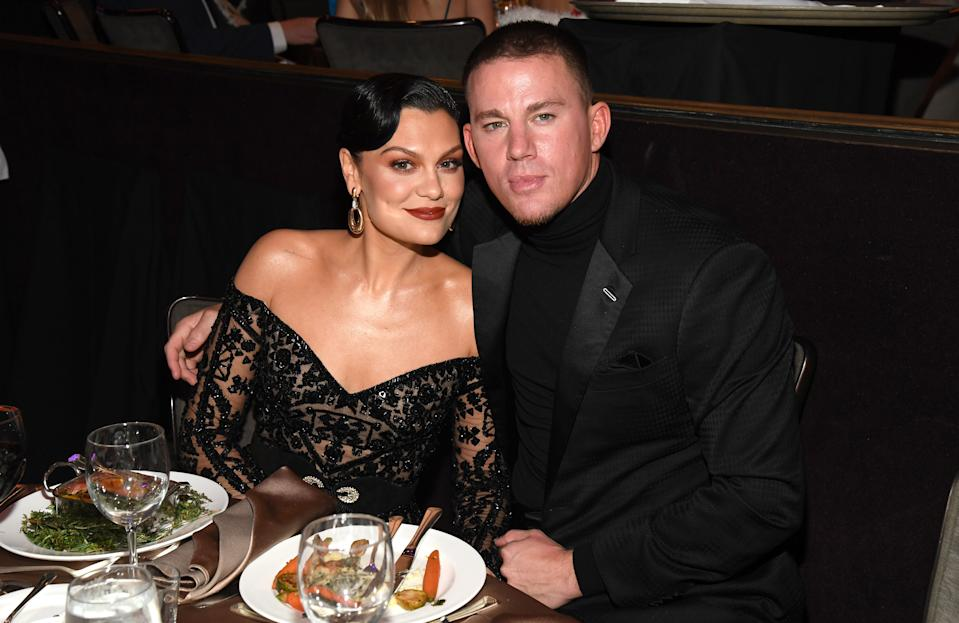 "Jessie J and Channing Tatum attend the Pre-GRAMMY Gala and GRAMMY Salute to Industry Icons Honoring Sean ""Diddy"" Combs on January 25, 2020 in Beverly Hills, California. (Photo by Kevin Mazur/Getty Images for The Recording Academy)"