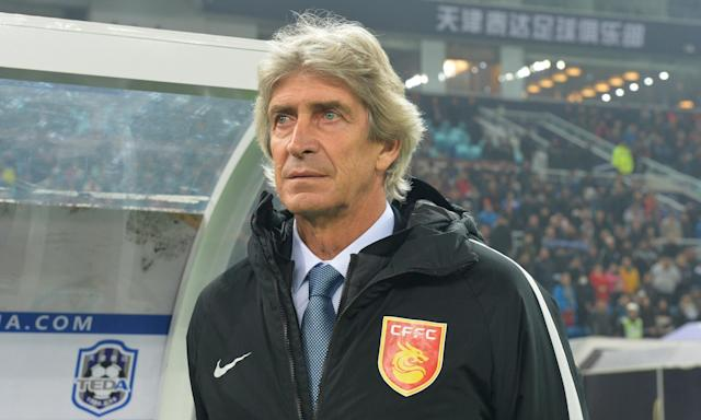 Manuel Pellegrini, who led Manchester City to the Premier League title in 2014, is keen to return to Europe from Hebei China Fortune.