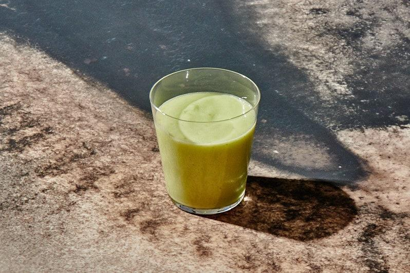 "This avocado drink has the creamy, sippable texture of a milkshake but without a drop of dairy. Fresh lime juice keeps it bright. <a href=""https://www.epicurious.com/recipes/food/views/avocado-water?mbid=synd_yahoo_rss"">See recipe.</a>"