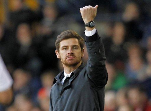 Andre Villas Boas (shown at a Chelsea game in March) said Spurs chairman Daniel Levy has a better feel for football